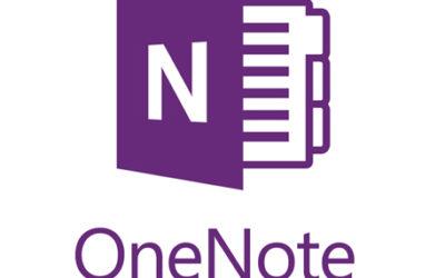 Tutoriel One Note 2016