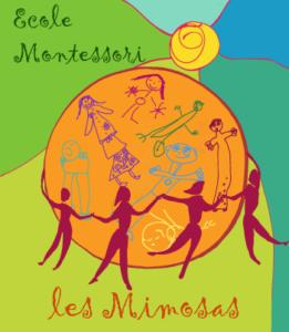 Logo école Montessori Les Mimosas