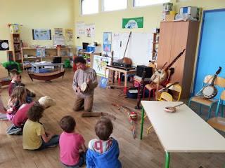 Vie de la classe à l'école Les Mimosas - Larmor Baden