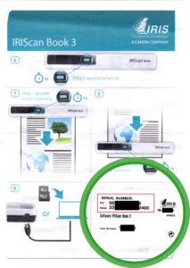Notice IRIScan Book 3