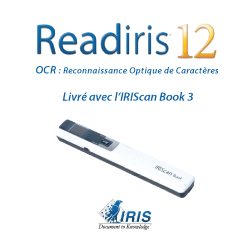 Tutoriel Readiris 12 – IRIScan Book 3