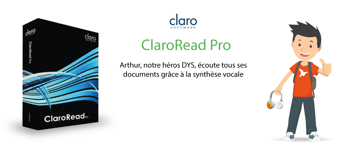 Bandeau ClaroRead Pro - Synthèse vocale